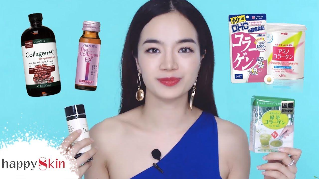 Quay video review về 11 loại  collagen nổi tiếng trên thị trường
