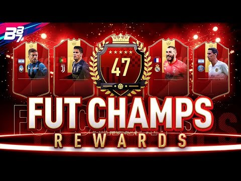 47TH IN THE WORLD FUT CHAMPIONS REWARDS! RED IF PLAYER PICK PACKS! | FIFA 19 ULTIMATE TEAM