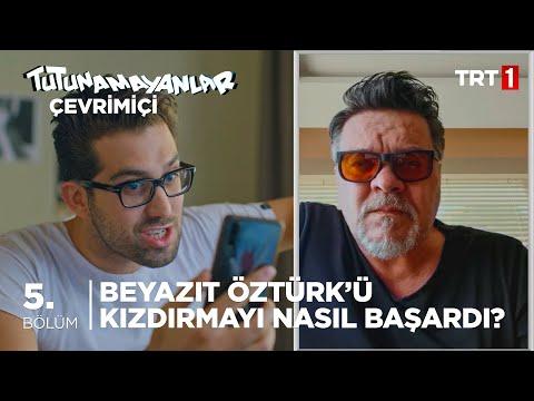 Beni Cengiz Kurtoğlu Tehdit Etti! - Tutunamayanlar Çevrimiçi 5. Bölüm