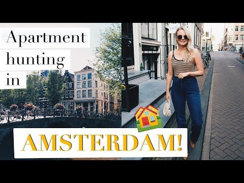 APARTMENT HUNTING IN AMSTERDAM | MOVING ABROAD | ANDREACLARE