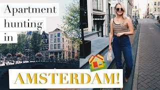 APARTMENT HUNTING IN AMSTERDAM   MOVING ABROAD   ANDREACLARE