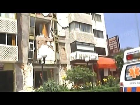 Major earthquake hits south of Mexico City