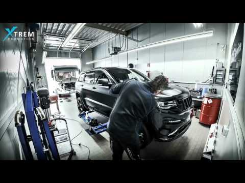 CAR WRAPPING - Jeep Grand Cherokee SRT
