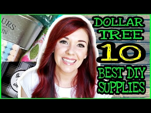 The BEST Dollar Tree DIY Craft Supplies / Dollar Tree must have Summer 2019