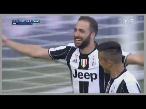Gonzalo Higuain vs Sassuolo (Home) 10/09/2016 | Man of the Match | English Commentary | HD