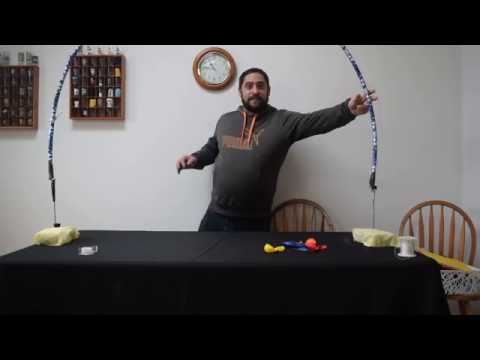 how to build a Balloon arch kit . Learn how to make a indoor balloon frame for arches w/out helium