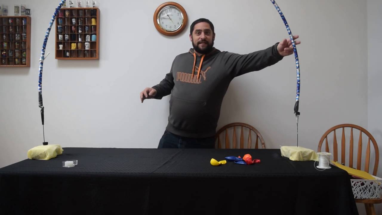 how to build a Balloon arch kit . Learn how to make a indoor balloon ...