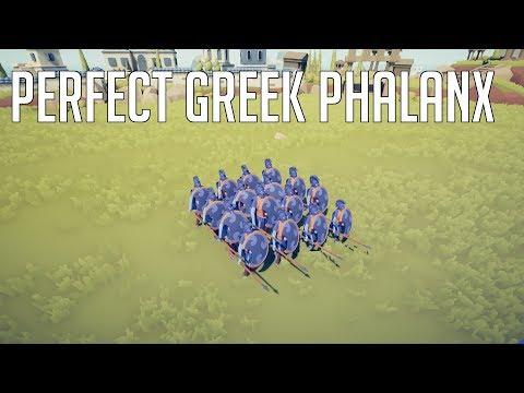 TABS | Perfect Greek Phalanx Vs Angry Farmers