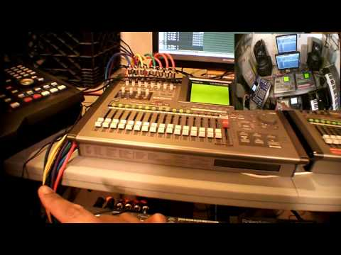 Midi: Roland VS2000, VS1880, & Akai MPC 4000 part2