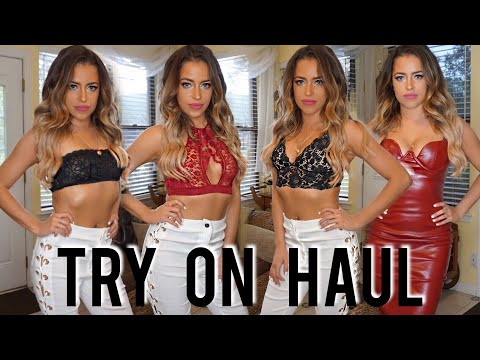 TRY ON HAUL: Victoria's Secret, BCBG, Tory Burch & More!