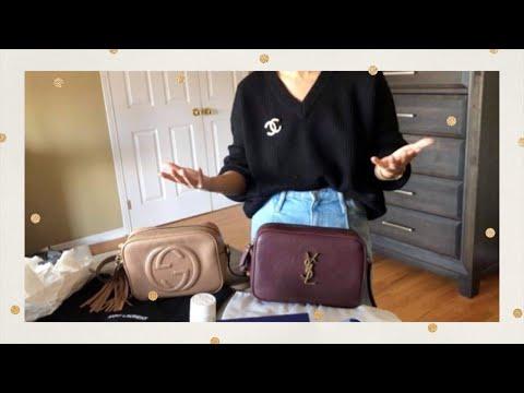 Gucci Soho Disco VS YSL Lou Camera Bag