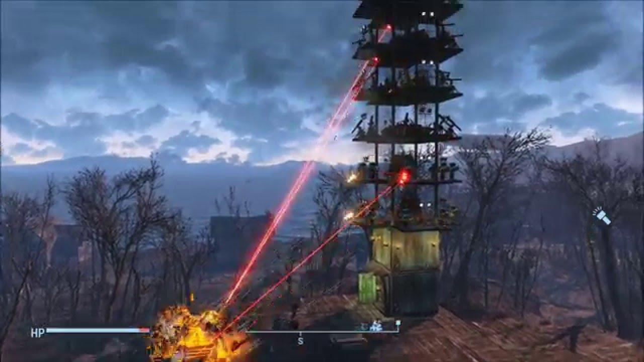 Fallout 4: Most effective Defense Tower (Settlement ...