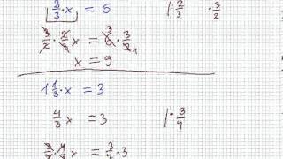 Rozwiązywanie równań - Matematyka Szkoła Podstawowa i Gimnazjum
