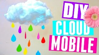 How to Make a Cloud Mobile | DIY Room Decor | DIY Nursery Decor