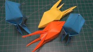종이접기 로켓 [진진종이접기] Origami Rocket 折纸,折り紙,оригами,اوريغامي