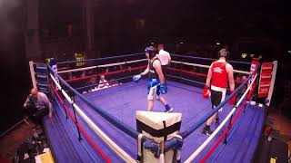 Ultra White Collar Boxing | Liverpool | Paul Churchill VS John Burquest