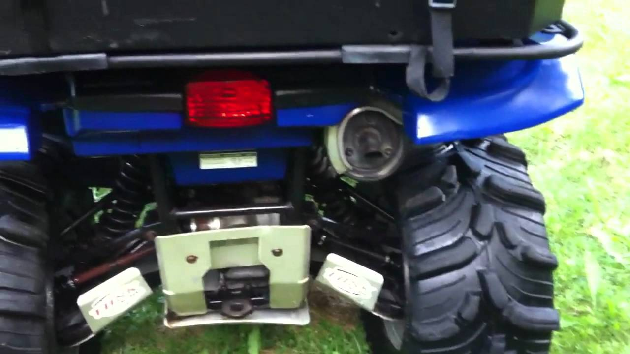 Yamaha Grizzly 660 >> 2002 Yamaha Grizzly 660 auto 4x4 atv for sale - YouTube