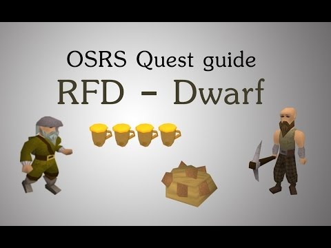 [OSRS] Recipe of Disaster - The dwarf quest guide