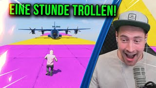 FACE TO FACE MAP MIT FLUGZEUGEN😅| Lusor Livestream Highlights