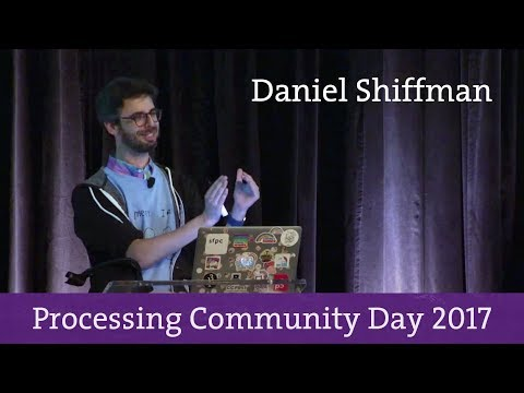 The Coding Train - Processing Community Day 2017