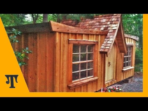 Shipping Container Conversion Series Video 15 Wood Siding