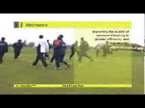 Cricket Training With SAQ Sport Equipment (Speed, Agility, Quickness (SAQ®)