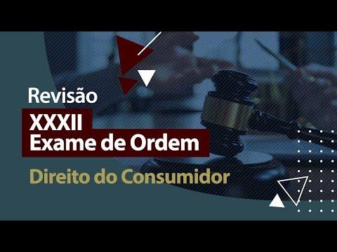 XXXII Exame de Ordem - Revisão - Direito do Consumidor