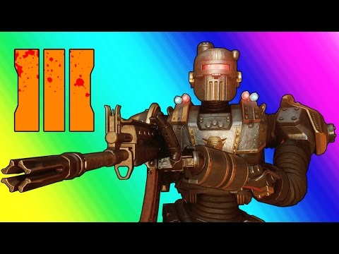 Thumbnail: Black Ops 3 Zombies Shadows of Evil - Pack a Punch, Civil Protector Robot, & Fake Easter Eggs!