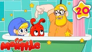 Morphle ein Bad Nimmt! | NEW | Meine Magie Pet Morphle | Cartoons für Kinder | Märchen & Geschichten