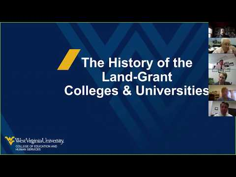 The History of the Land-Grant Colleges & Universities