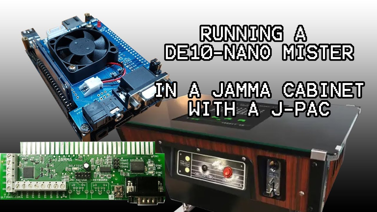 CONNECTING THE MISTER DE10 NANO TO JAMMA ARCADE WITH A J PAC