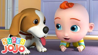 Yes Yes Playground Song + More Nursery Rhymes & Kids Songs - Super JoJo