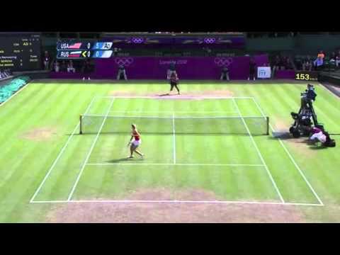 Maria Sharapova vs Serena Williams Olympics Gold Medal Final highlights.
