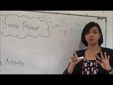 Belajar bahasa Inggris Simple Present Tense di James Edu Center Viladuta Bogor