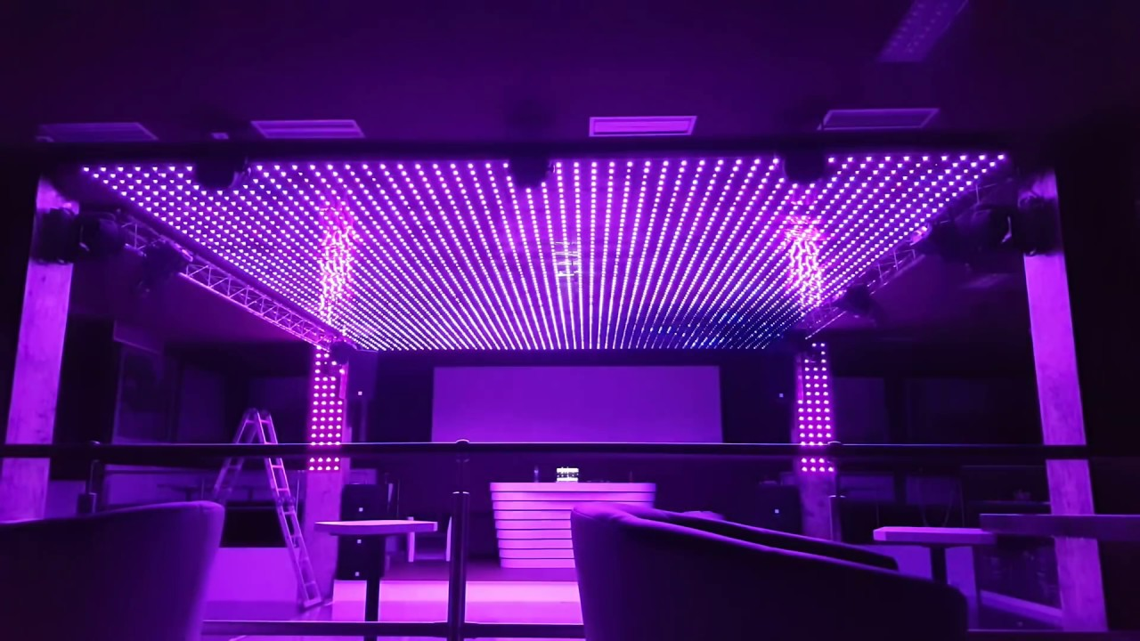 MADRIX Art led, DMX, JINX, Led strop, disco brooklyn karlovy vary   Instalace by carlgreyCZ