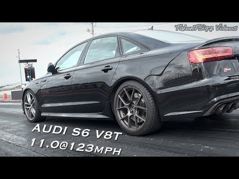 APR Stage 2 Audi S6 Hustling to DEEP 11s