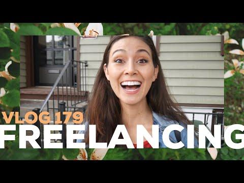 HOW I FREELANCE. VLOG 179