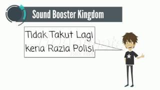 Sound Booster Motor Kingdom