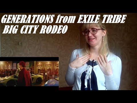 GENERATIONS from EXILE TRIBE - BIG CITY RODEO |MV Reaction| New favorite song!