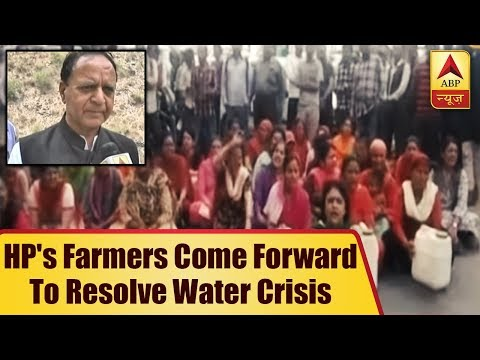 Shimla: Himachal Pradesh's Farmers Come Forward To Resolve Water Crisis  ABP