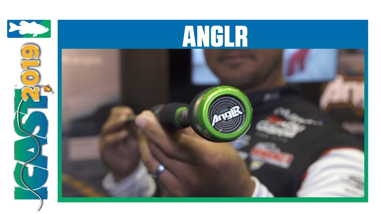 ANGLR Co-Branded Embedded Bullseye Smart Rod with Keith Poche | iCast 2019