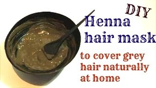 DIY Henna Hair pack to color grey hair naturally-Simple & best henna pack for men & women.