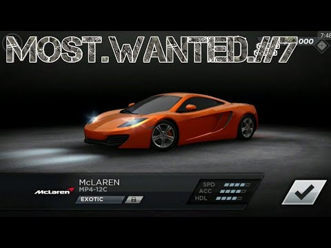 Need For Speed Most Wanted Playthrough #7 Dodge, Audi & McLaren - 동영상