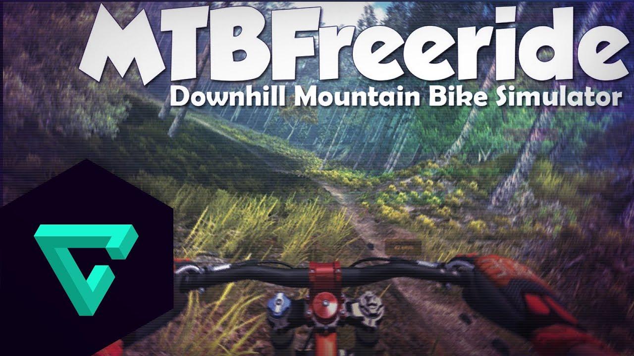 downhill mountain bike simulator