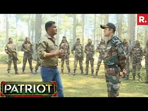 Major Gaurav Arya With Cadest From Corps Battle School In Bhalra | Patriot