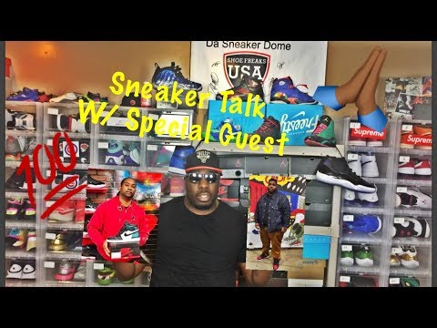 sneaker talk with @thechuck29 and @sneaker_cheff (CLASSIC ENDING)