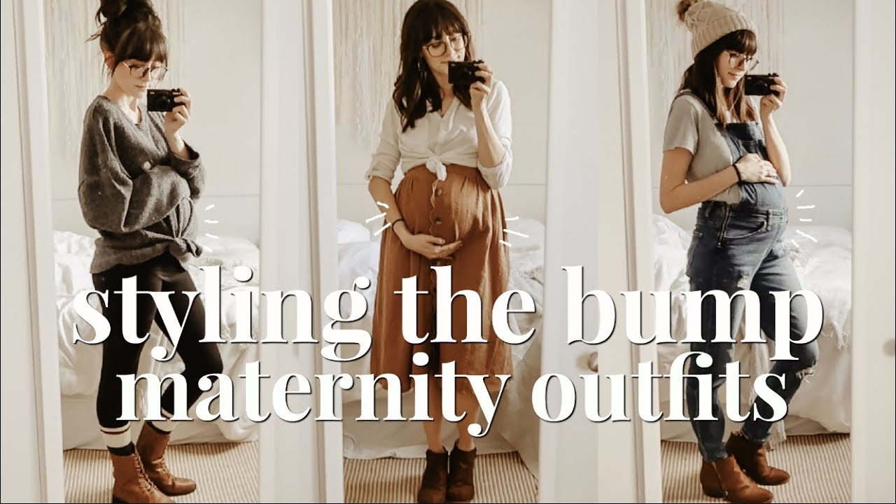 Styling The Bump A Week Of Maternity Outfits Winter Edition Youtube