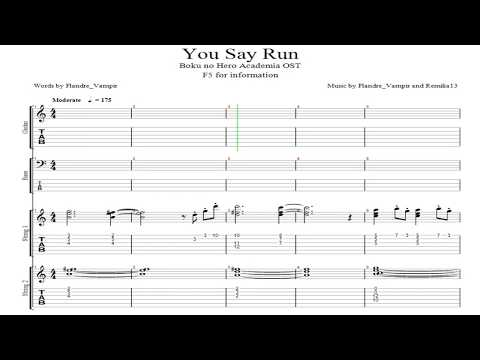 Boku no Hero Academia OST - You Say Run