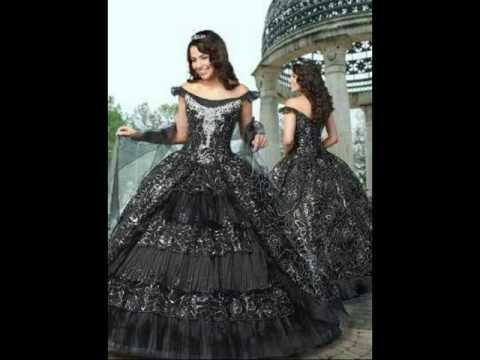 6916d81bc Vestidos de XV años obscuros - YouTube