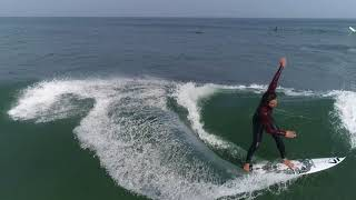 【高校生空撮サーフィン】REO KANAO drone raw clip